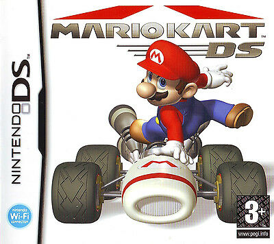 Mario Kart Ds Game DS DSi 3DS 3DSXL *PAL FORMAT + FREE Accessory