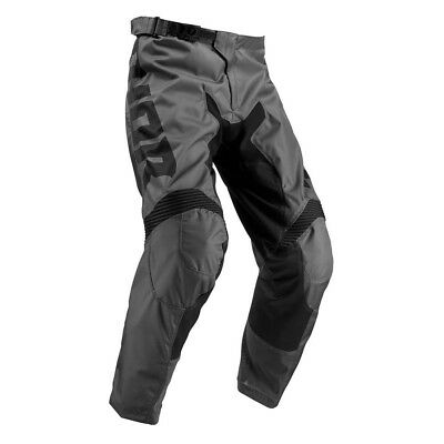 Thor Pulse Smoke Pants Motocross MX Enduro Hose grau/schwarz