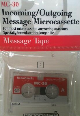 MC-30 Incoming/Outgoing Message Microcassette