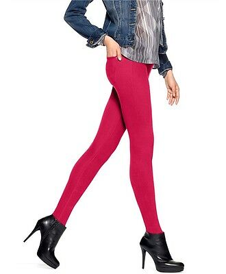 56b06e26a60 HUE- Original Jeans Solid Color Leggings - Love Potion - sz SMALL - New w