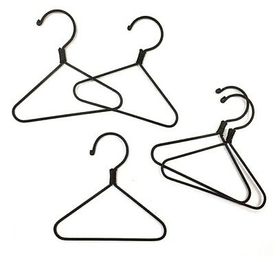 "5X   Mini Wire Hangers  3"" (Plain) Actual Size: 78mm (3-1/8"") x 75mm (3"") High"