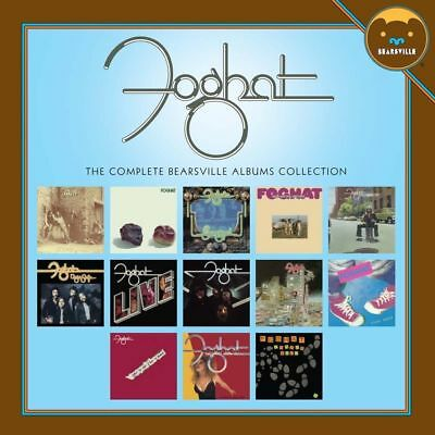"Foghat ""The Complete Bearsville Albums Collection"" 13 CD Box Set"