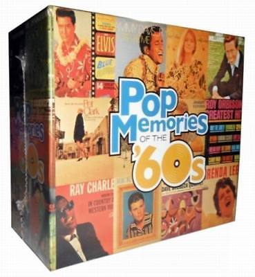 "Various Artists ""Pop Memories Of The '60s"" 10 CD Box Set Time Life Easy Music"