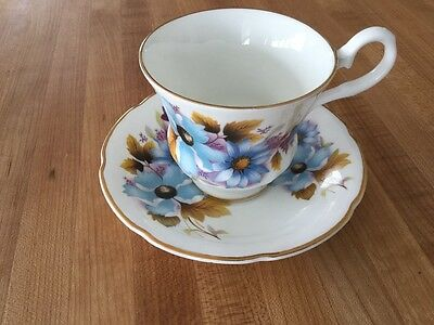 Royal Grafton Fine Bone China teacup and saucer England