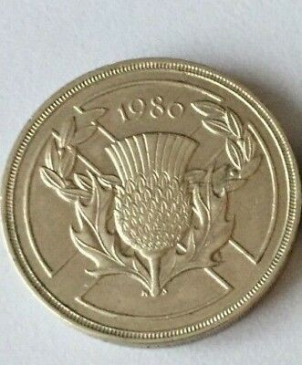 Cheapest £2 Coin 1986 Commonwealth Games Two Pounds