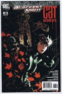 Catwoman #83 VF/NM Signed w/COA by Cover Artist Adam Hughes 2010 DC Comics
