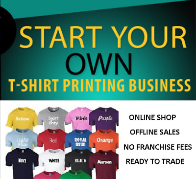 Start Your Own T-Shirt Printing  Business With Online .shop