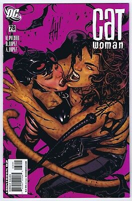 Catwoman #78 VF/NM Signed w/COA by Cover Artist Adam Hughes 2008 DC Comics