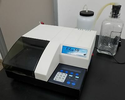 Warranty BioTek ELx50 8 Channel Automated Microplate Strip Washer j2