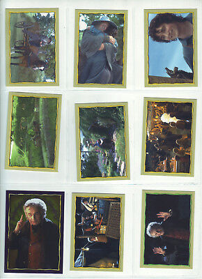 2001 Merlin Collection - 221 Cards - Lord Of The Rings - Fellowship Of The Ring