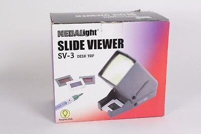 Medalight Slide Viewer SV-3 Desk top Battery operated
