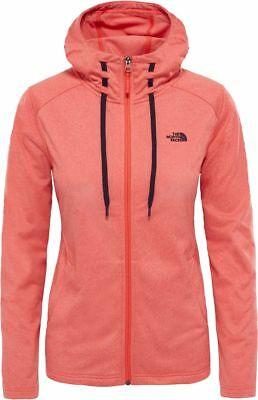 THE NORTH FACE TNF Tech Mezzaluna T93BROL4B Fleece Veste à Capuche pour Femme