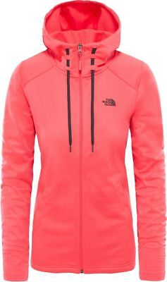 THE NORTH FACE TNF Tech Mezzaluna T93BRO4CK Fleece Veste à Capuche pour Femme