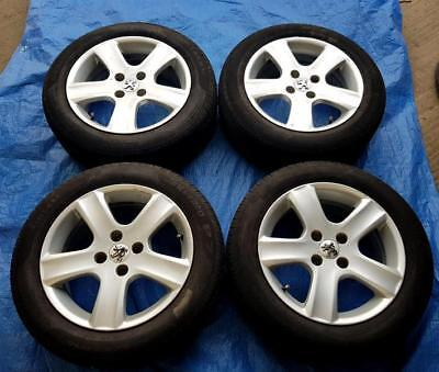 "Peugeot 307 16"" Alloy Wheels PCD 4x108mm 6.5Jx16 ET31 205/55R16 11071"
