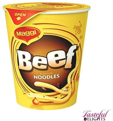 Maggi Noodles Beef Cup 58g