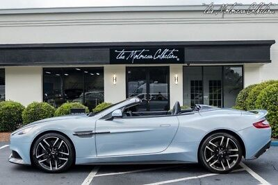2017 Aston Martin Vanquish  2017 Aston Martin Vanquish Volante Only 700 Miles!!!  Clean CarFax, 1 Owner