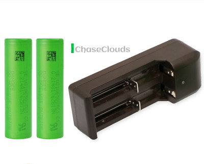 18650 Sony VTC4 VTC6 VTC5 High Drain Rechargeable Flat Top Battery Vape Chargers