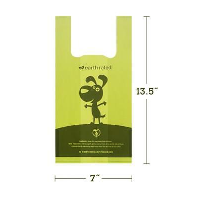EARTH RATED Tie Handle Poo Bags - Dog Puppy Thick Poop Waste Un/Scented refill