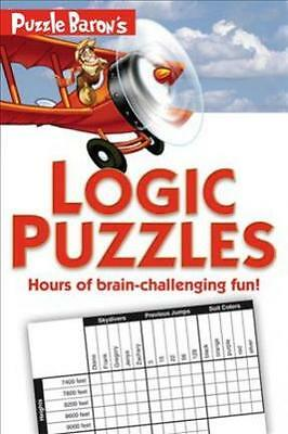 Puzzle Baron's Logic Puzzles  by Puzzle Baron Book | NEW AU