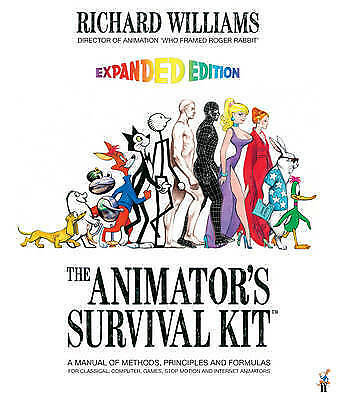 The Animator's Survival Kit by Richard E. Williams Book   NEW Free Post AU