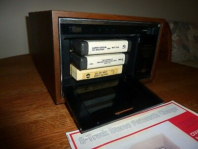 Realistic TR 888 8 Track Tape Player Changer Deck  PLAYS THREE 8 TRACKS!