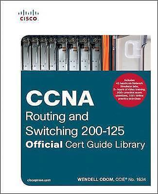 CCNA Routing and Switching 200-125 Official Cert Wendell Odom Book | NEW