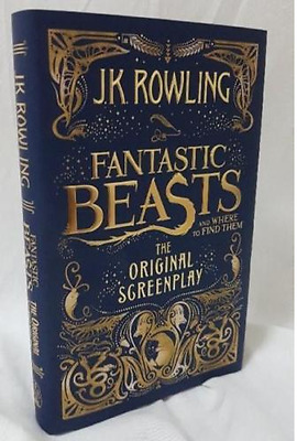 Fantastic Beasts and Where to Find Them by J. K. Rowling Book | NEW AU