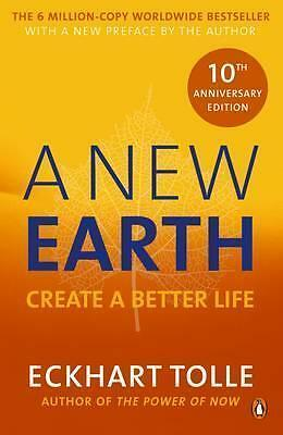 A New Earth : Create a Better Life by Eckhart Tolle Book | New Free Post AU