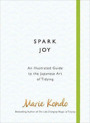 Spark Joy Guide to Tidying By Marie Kondo Hardcover | NEW & Free Shipping AU