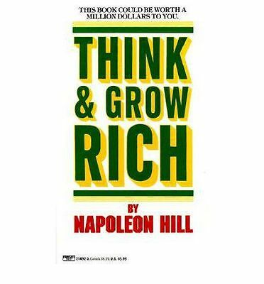 Think and Grow Rich By Napoleon Hill 2ed Paperback Book | NEW & Free Shipping AU
