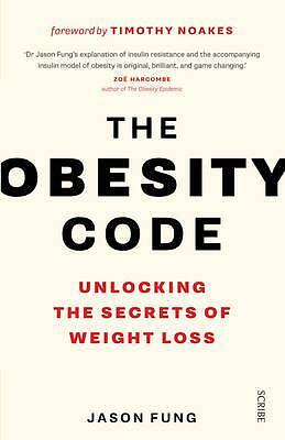 The Obesity Code: Weight Loss By Dr. Jason Fung Paperback | NEW & Free Shipping