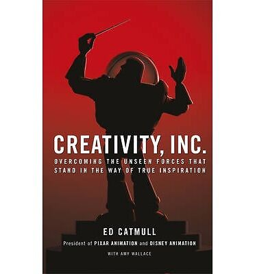 Creativity, Inc.: Overcoming the Unseen Forces by Ed Catmull Book   NEW AU