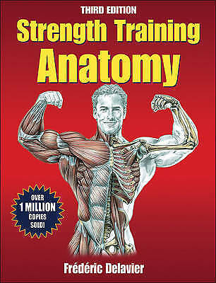 Strength Training Anatomy By Frederic Delavier Book | NEW & Free Post AU