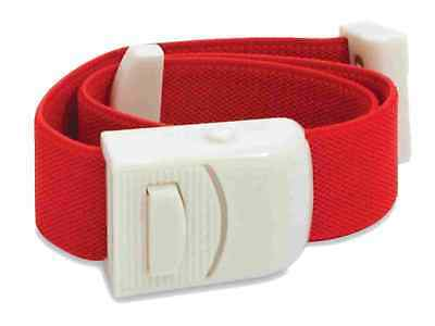 Medical Tourniquet Quick Release Buckle Emergency Paramedic First Aid Nurse Red