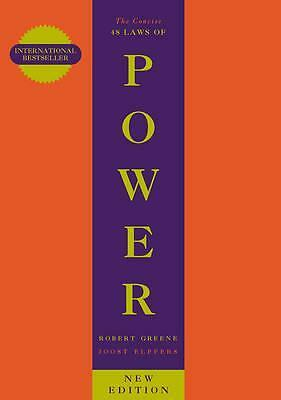 The Concise 48 Laws of Power by Robert Greene Book | NEW Free Post AUS