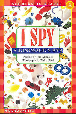I Spy a Dinosaur's Eye Schrd by Jean Marzollo Book | NEW Free Post AU