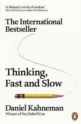 Thinking, Fast and Slow by Daniel Kahneman Book | Brand New & Free Shipping