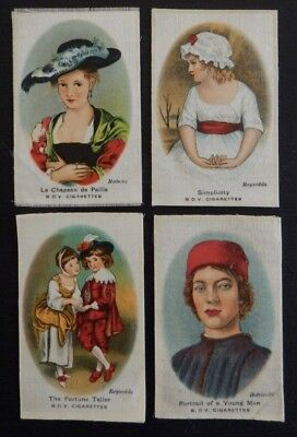 SILKS OLD MASTERS PAINTINGS  issued in 1924 Quilting Patchwork Needlework