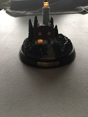 Thomas Kinkade Clearing Storms Lighted Lighthouse Battery Operated