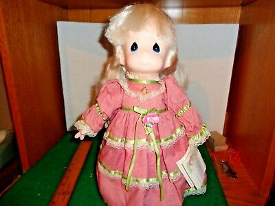 Precious Moments Vinyl and Cloth 14.5 Inch  Doll with Swing Tag