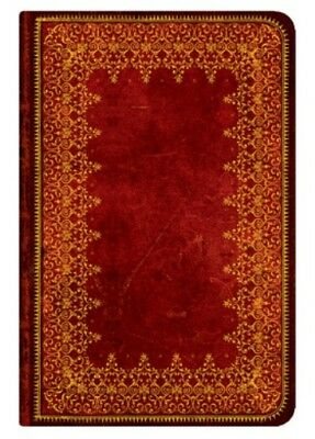 """Paperblanks ADDRESS BOOK """"Foiled"""" Mini 3¾"""" x 5½"""" Red"""