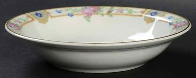 "Edwin Knowles Plaza Rim Fruit Sauce Dessert Bowl 5"" Semi Vitreous China 1925"