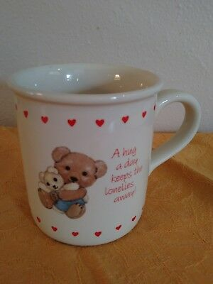 Loving Coffee Cup Hearts and Hugs by Carlton Cards Mug MG 5231