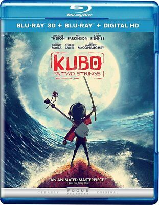 Kubo and the Two Strings (2016) 3D + 2D Blu-Ray+Digital HD