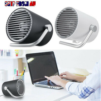Portable Cooler Mini Fan USB Ports Laptop Table Desk Touch Control Summer Gifts