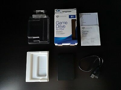 2tb Seagate Game Drive for PS4 - Portable/External Hard Drive HDD Boxed