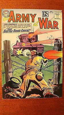 Our Army At War #123, 1962, Sgt Rock, and Easy Company. 8.0 Grade