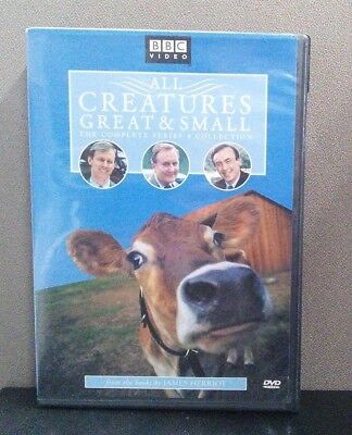 All Creatures Great & Small - The Complete Series 4 Collection   (DVD)  LIKE NEW
