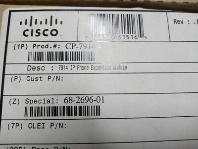 CISCO CP-7914 IP Phone Expansion Module for 7960