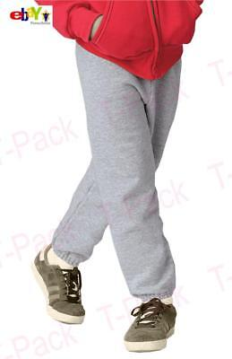 New For Kid's Youth Plain Fleece Jogger Casual Sweatpants House 80% Cotton Pants
